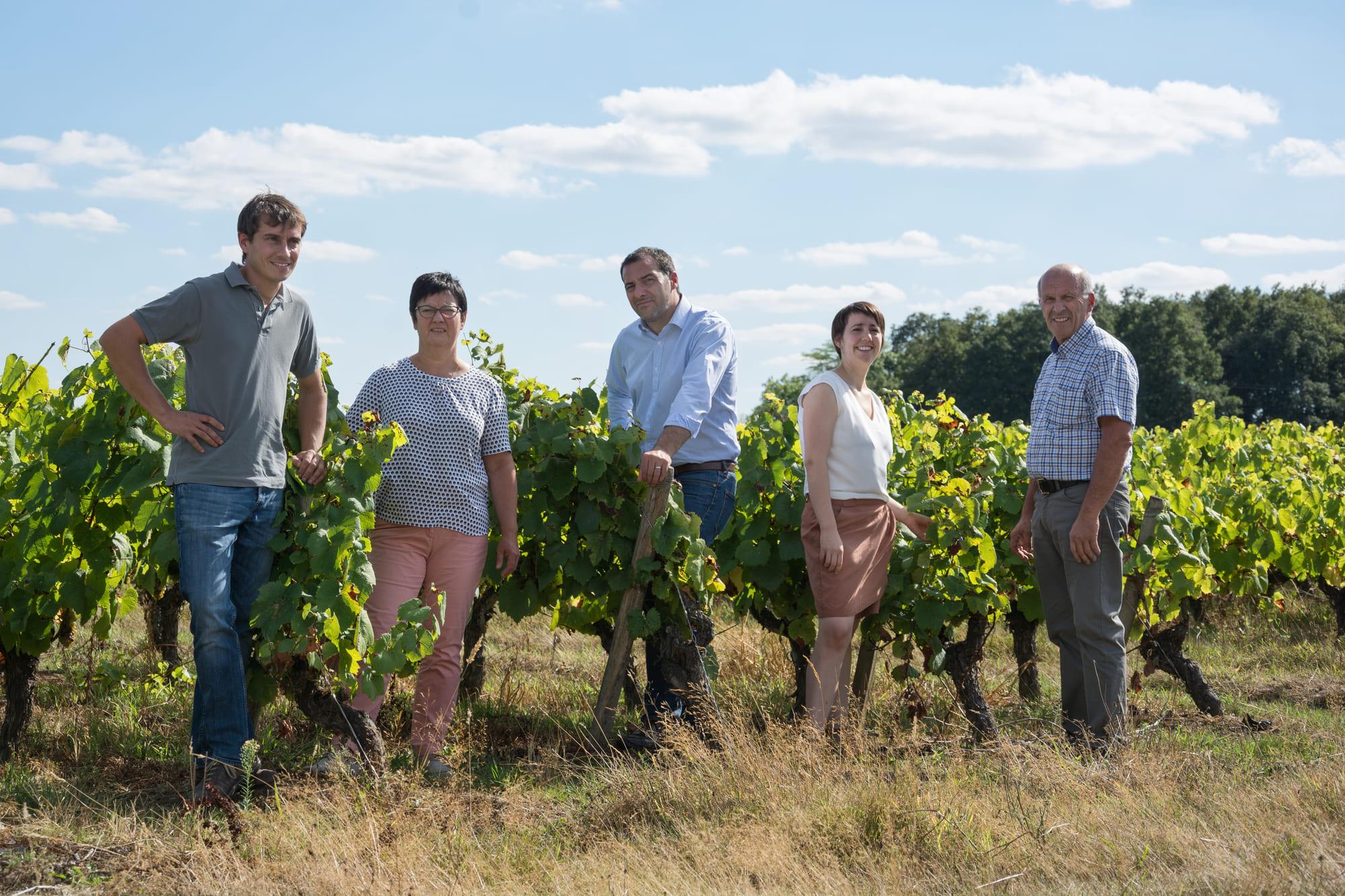 Famille Lieubeau - Vignes Famille